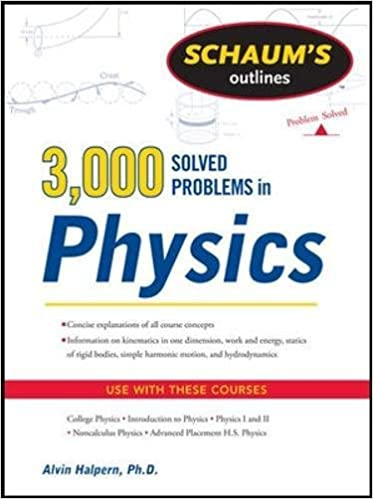com schaum s solved problems in physics schaum s  schaum s 3 000 solved problems in physics schaum s outlines 1st edition