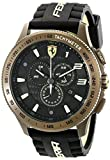 Movado Online Best Deals - Ferrari Men's 830244 Scuderia XX  Watch with Black Silicone Band
