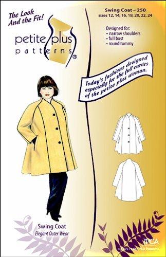 Amazon.com: Patterns - Petite Plus #250 Swing Coat: Arts, Crafts ...