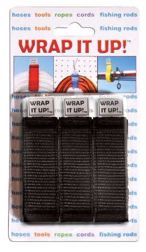 WRAP IT UP,  3 pk., Black