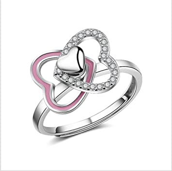 XIAHE Double Love Spinning Winding Ring: Amazon.es: Deportes y ...