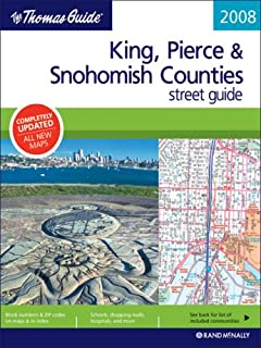 Tacoma Pierce Counties WA Street Atlas American Map - Us paper map thomas guide