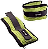 Reebok Adjustable Ankle Weight Set (2.5lb each)