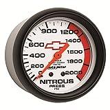 Auto Meter Automotive Performance Nitrous Oxide Pressure Gauges