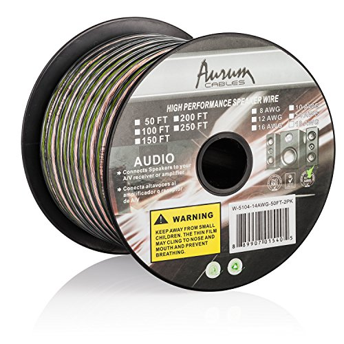 aurum-cables-16-gauge-transparent-pvc-speaker-wire-w-ft-markings-every-5-ft-200-feet