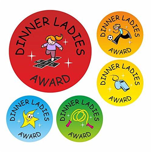 Dinner Ladies Reward Stickers