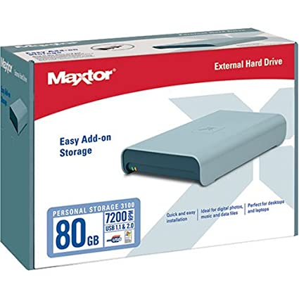 MAXTOR PERSONAL STORAGE 3100 1.0 DRIVER DOWNLOAD
