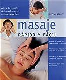 Masaje, Rapido y Facil, Nitya LaCroix, 8466610316