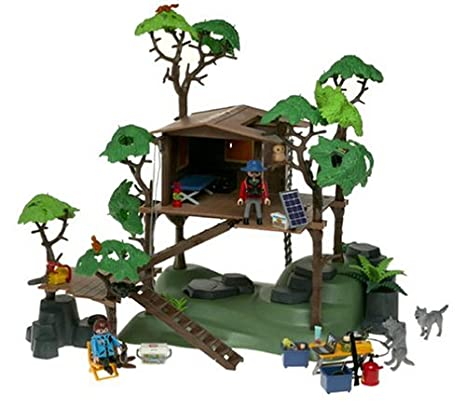 Amazon.com: Playmobil Casa del árbol: Toys & Games