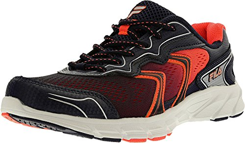 Fila Womens Stellaray Low Top Lace up Running Sneaker, Multicolor, Size 6.0
