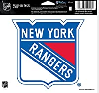 "NHL New York Rangers Multi-Use Colored Decal, 5"" x 6"""