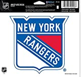 NHL New York Rangers Multi-Use Colored Decal, 5″ x 6″