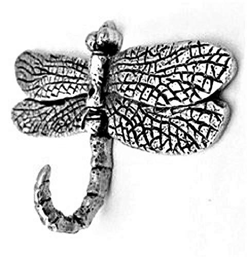 New Item Medium Dragonfly Hook Antique Silver HK-608AS