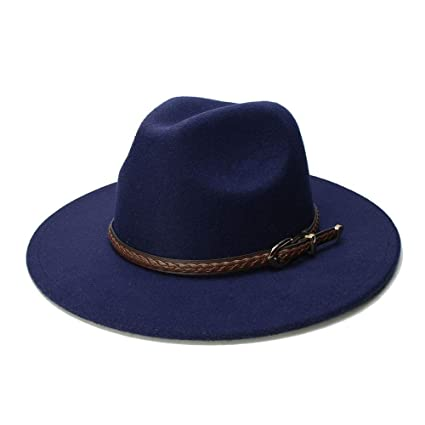 40aa93b6321 Amazon.com  Home Men and Women Hat - Fedora Hats for Women Men Wide ...