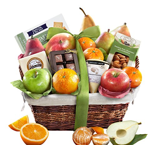 Golden State Fruit The Classic Deluxe Fruit Basket (Fresh Fruit Gift Basket compare prices)