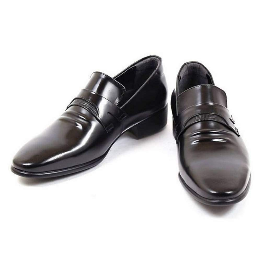 EpicStep Mens Classic Simple Genuine Leather Dress Formal Business Lace up Oxford Shoes