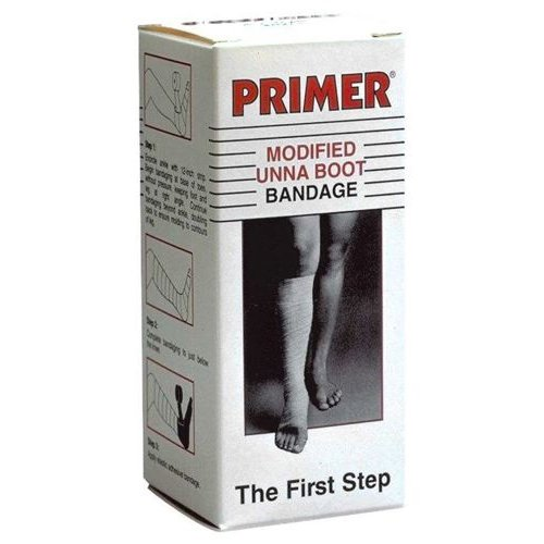 - Derma Sciences GL3001C Primer Modified Unna Boot Ulcer Bandage with Calamine, 3