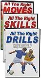 Sistemas de aprendizaje de fútbol Sls movimientos correctos, habilidades, taladros de fútbol Dvds (juego)