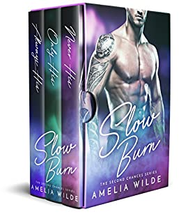 Slow Burn: The Complete Second Chances Series Boxed Set by [Wilde, Amelia]