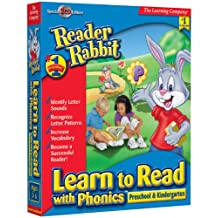 Reader Rabbit Learn Phonics Pre-Kindergarten