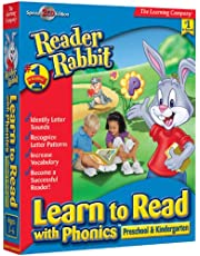 Reader Rabbit Learn Phonics Pre-Kindergarten