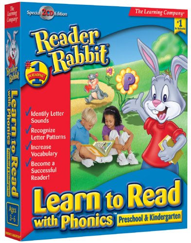 Reader Rabbit Learn to Read Phonics (Preschool & Kindergarten) by The Learning Company
