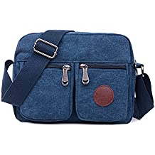 Degohome Casual Canvas Backpack Crossbody Sling Bag Shoulder Bag Chest Bag