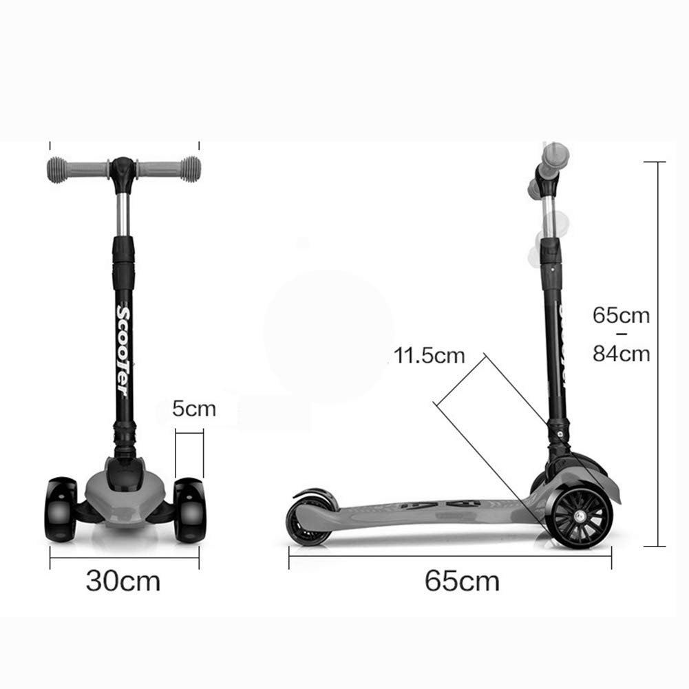 Amazon.com : GAOFENG-Scooter Kick Strike Stunt First Scooter ...