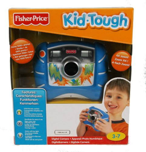 Fisher-Price Kid-Tough Digital Camera (Blue) ()