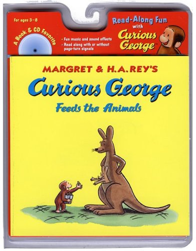 Curious George Feeds the Animals Book & CD (Read Along Book & CD)