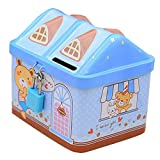 George Jimmy Coin Holder Coin Collecting Coin Purse Money Bag Cash Box Gift for Kids House