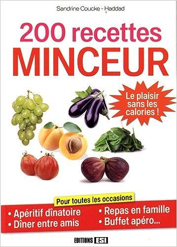 Téléchargement gratuit de livres électroniques français 200 recettes minceur in French PDF ePub
