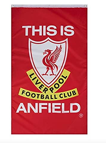 Liverpool Football Club This is Anfield Soccer Fan Flag - Fc Club