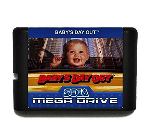 Taka Co 16 Bit Sega MD Game Babys Day Out 16 bit MD Game Card For Sega Mega Drive For Genesis