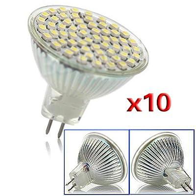 4w Jour 220v r Led X Smd 10 Toogoo Gu5 3 60 Spot Mr16 Saving Energie qUzMpSV