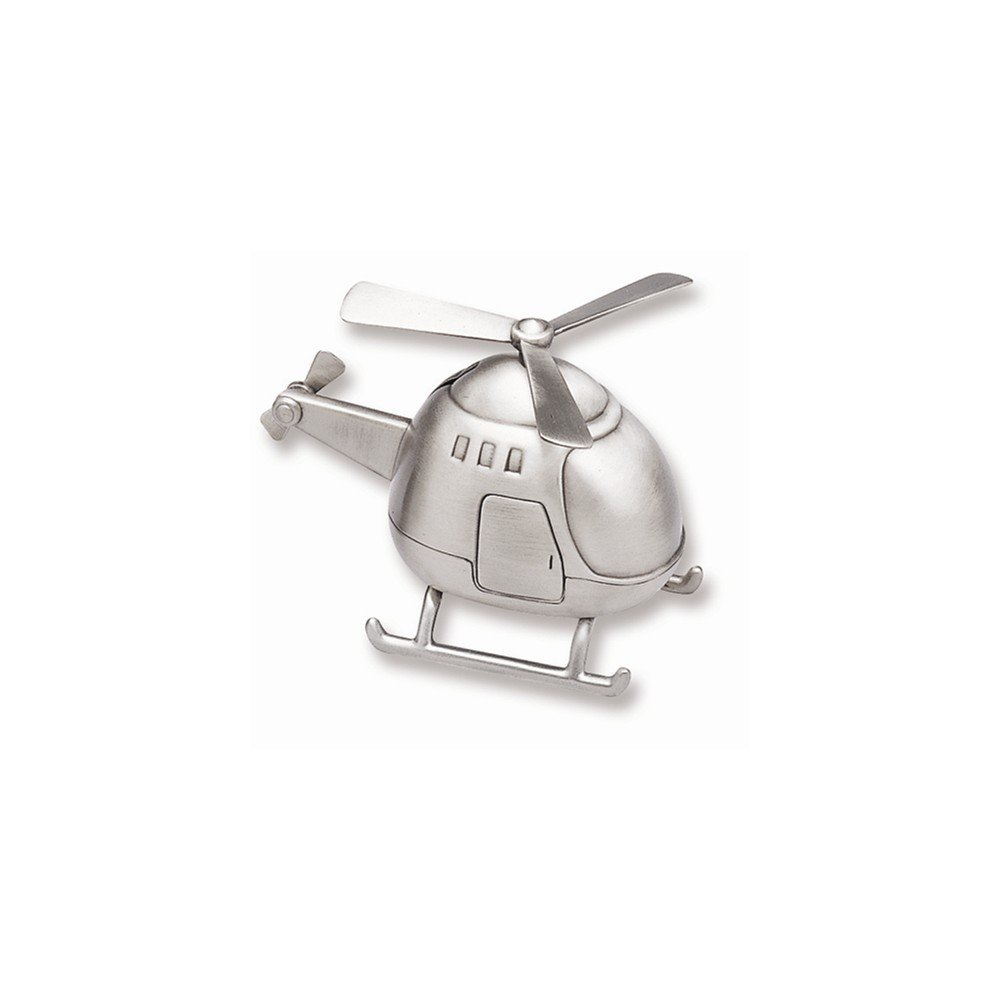 BABY Bank, Helicopter with Pewter Finish Enesco (ENEZ0) 88625