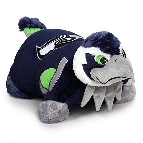 Fabrique Innovations NFL Pillow Pet , Seattle Seahawks, Large -