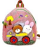 Da.Wa 3D Kinderrucksack/ Rucksack / Kindergartenrucksack / Kindertasche/ Geeignet für 1-5 Jahre Alte Baby