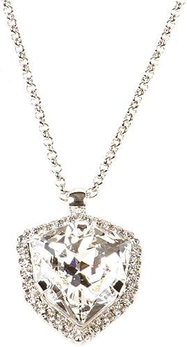 Collier avec pendentif élégant pour soirée cristaux swarovski ...