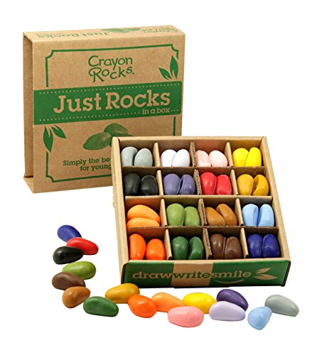 Just Rocks in a Box 16 Colors (64 Pack Of Crayons In Color Order)