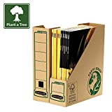 Bankers Box Earth Series Magazine File - Pack of 20 - Brown