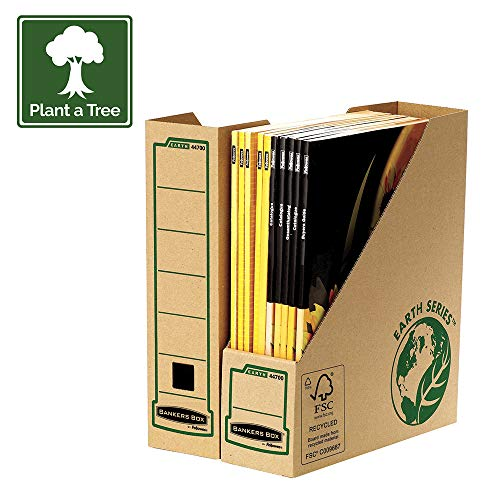 Fellowes Bankers Box Earth Series Magazine File - Pack of - Earth Series Fellowes