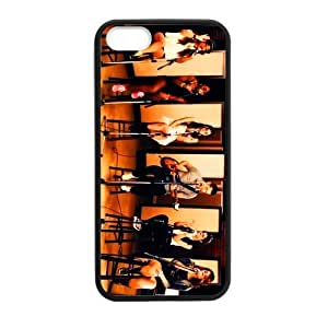 Jayz Cases Laser Technology Beautiful Fifth Harmony Protective TPU Case Cover Skin for Apple iPhone 4s 1 Pack - Black - 1