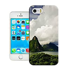 Fitted iphone 5/5s Cases Cheap unique Customizable Landscape logo back covers for a Christmas gift