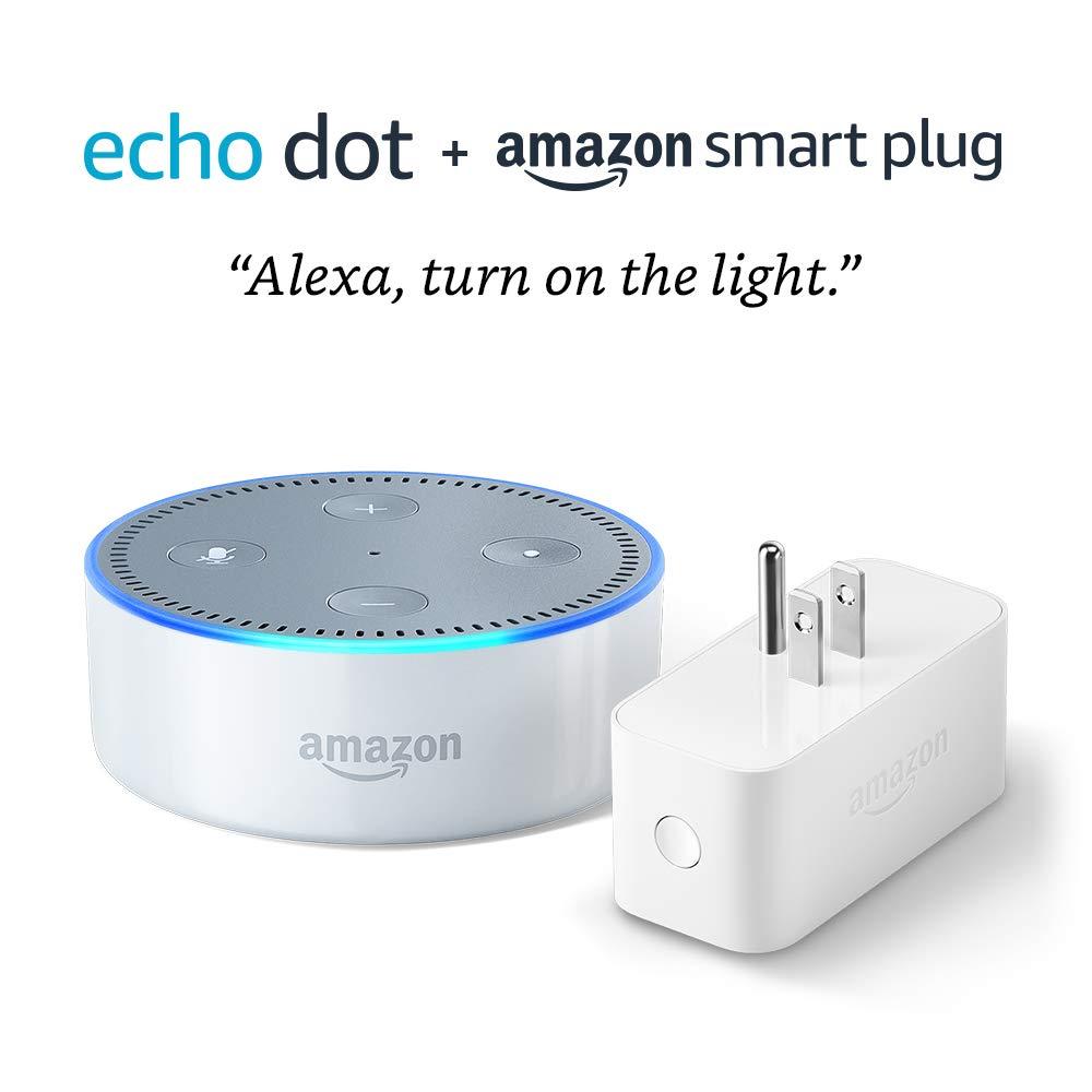 Amazon.com: Echo Dot (2nd Generation) bundle with Amazon ...