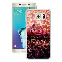 S6 Edge Plus Case,Disney Tangled White Samsung Galaxy S6 Edge+ Phone Case,Popular Cover