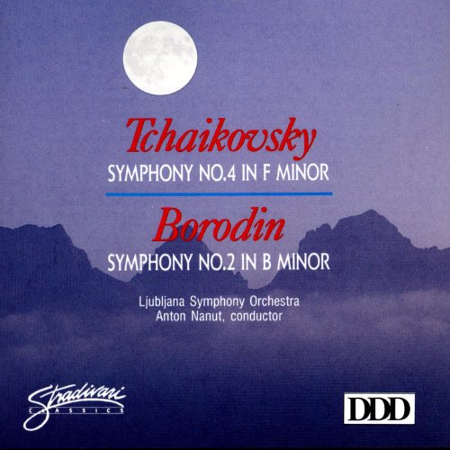 Tchaikovsky: Symphony No 4 In F Minor, Borodin: Symphony No 2 In B Minor (Borodin Symphony No 2 In B Minor)