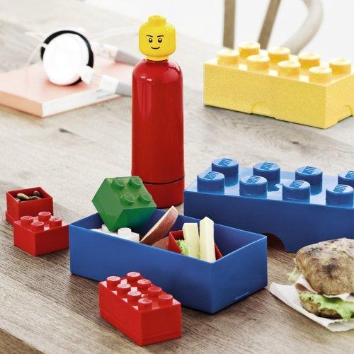 LEGO Mini Box With 4 Knobs, in Dark Green