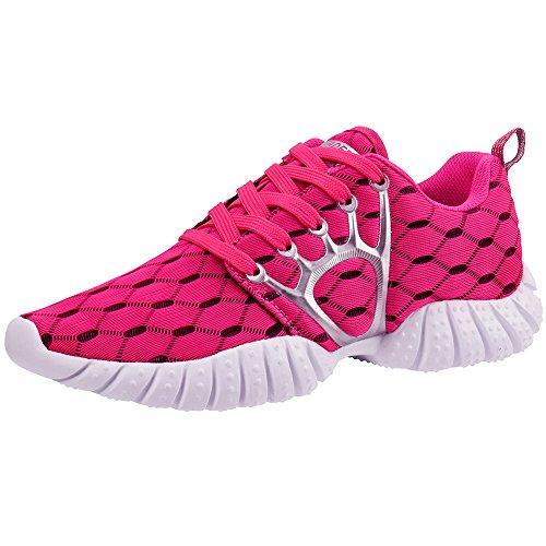 ALEADER 4562320454391 Socone Lightweight Ladies Sneaker (Red 24.0),
