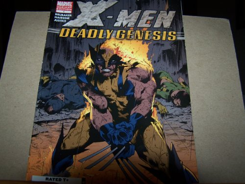 X Men Deadly Genesis #1 variant cover